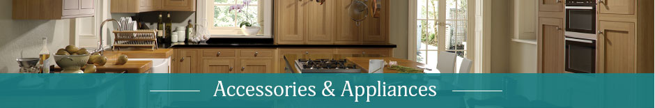 Accessories for kitchens and bedrooms